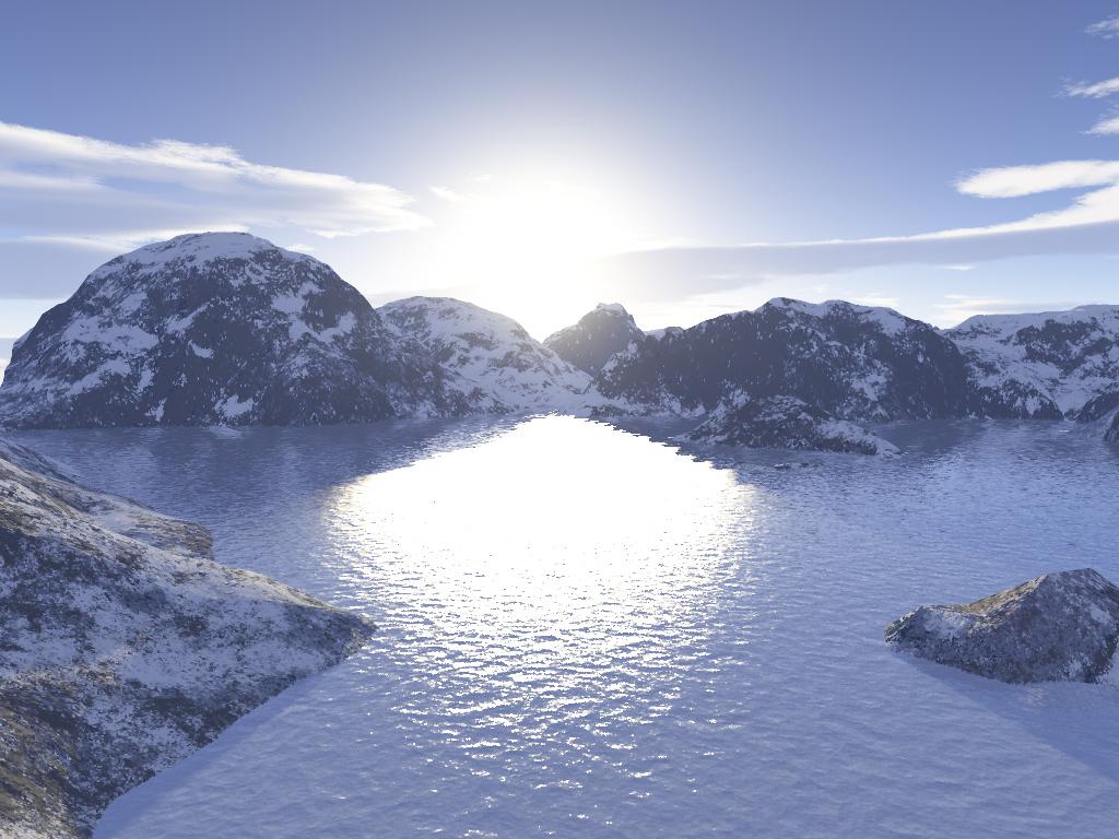 Jezera - Page 2 Frozen-lake